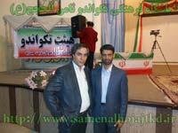 مراسم تجلیل از قهرمانان تکواندو ثامن الحجج (ع)